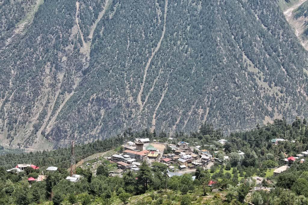 Kalpa from above | Kinnaur